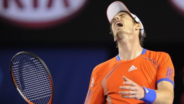 Trotz großem Kampfgeist reichte es für Murray nicht.
