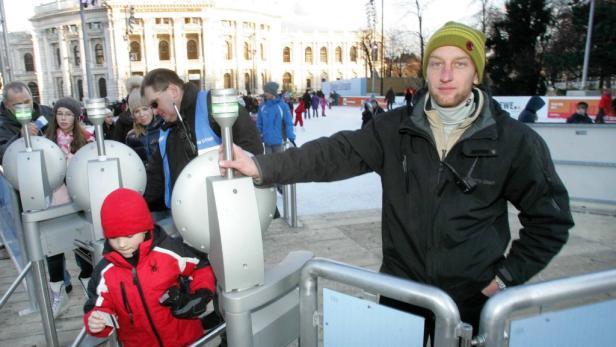 Pöschlmayer wacht seit sechs Jahren über den Eistraum