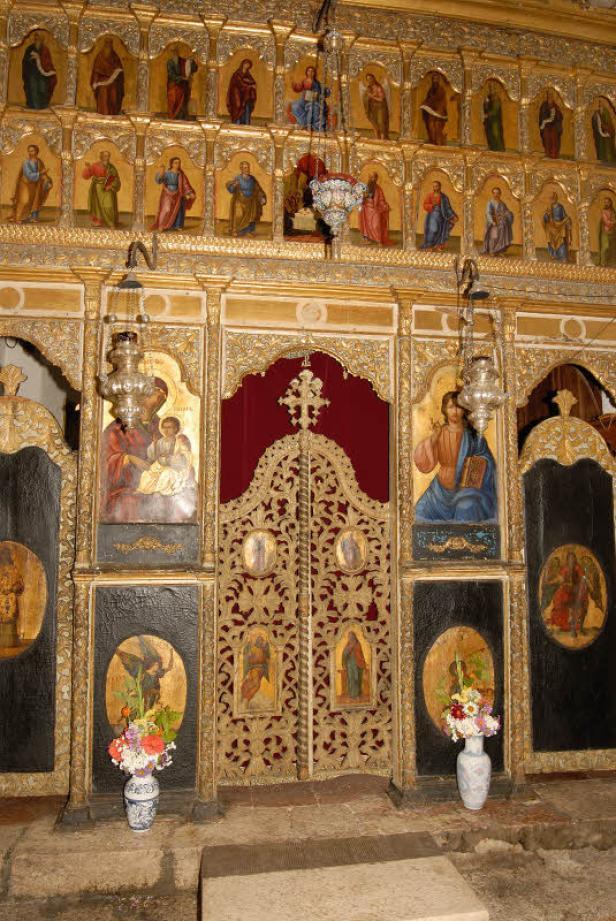 ... das Kloster in Cetinje mit der ältesten Druckerei am Balkan, 1495 errichtet.