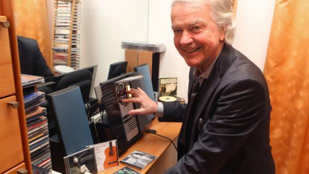 Der Sammler besitzt mehr als 6000 CDs.