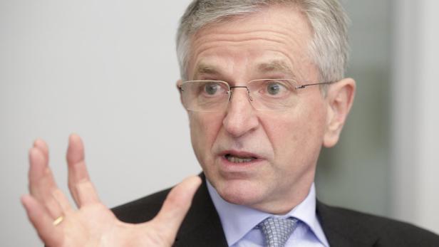 Wilhelm Molterer ist Vizepräsident der EIB
