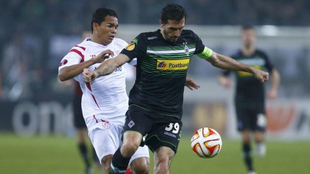 Stranzl erwischte gegen Sevilla nicht seinen besten Tag.