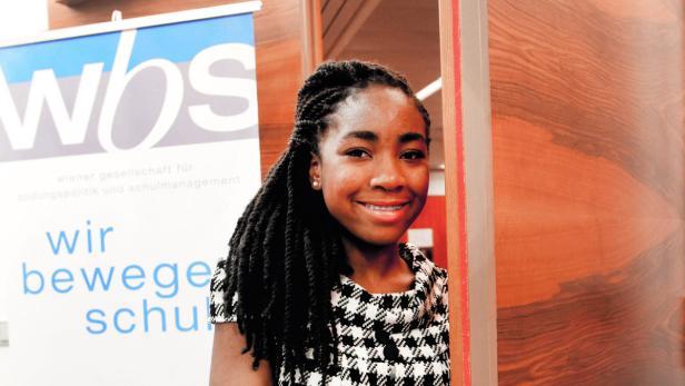 Hagar-Moumi Awudu blickt in die USA