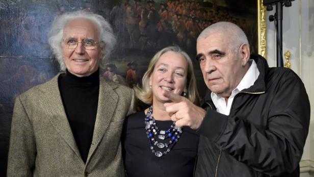Der Kunst wegen? Luciano Benetton, Agnes Husslein, Peter Noever