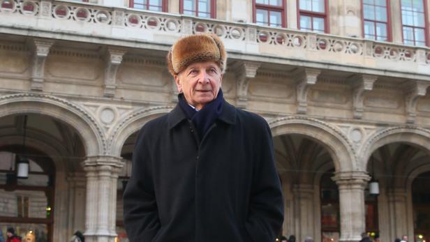 """In der Wiener Staatsoper spielt er den Haushofmeister in """"Ariadne auf Naxos"""" – eine seiner Lieblingsrollen"""