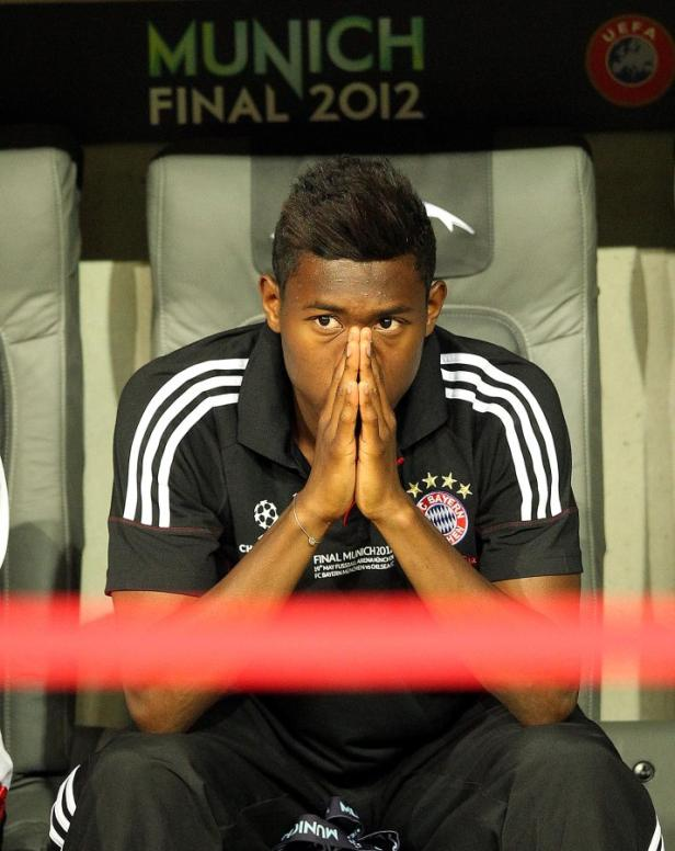 ... trauerte um das verlorene Champions-League-Finale,...