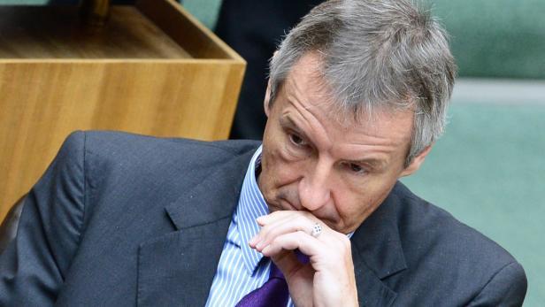 Adieu Nationalrat: Ex-Wirtschaftsminister Martin Bartenstein (ÖVP)