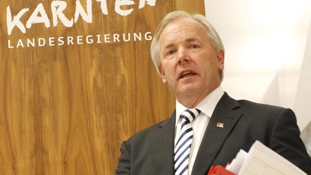 Kärnten Landeshauptmann Dörfler (FPK) muss um sein Amt bangen...