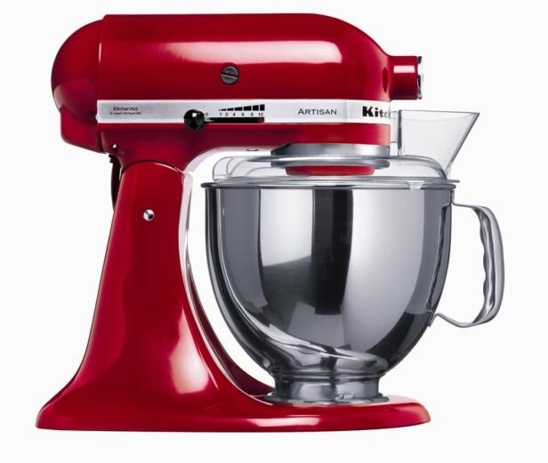 Robust und bunt: KitchenAid-Küchenmaschine (ab ca. 600 €)