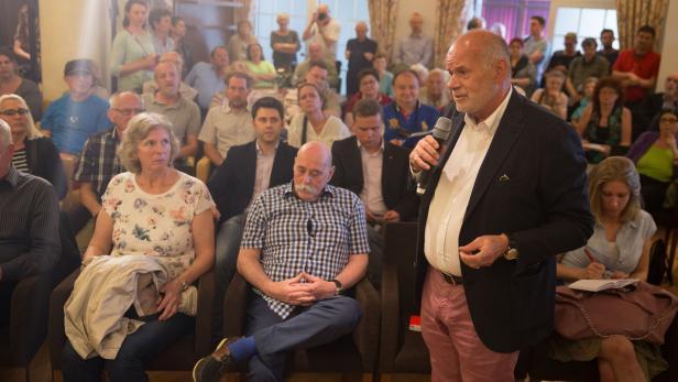 "Kurier-Stadtgespräch zu dem Thema ""Praterstraße - …"
