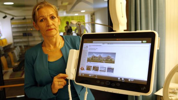 Sylvia Schwarz, interimistische ärztliche Leiterin, will die Patienten Mitte 2016 begrüßen