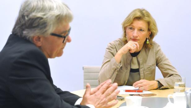 Wolfgang Eder im Gespräch mit Martina Salomon