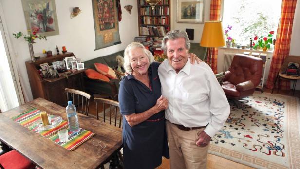 Norman G. Dyhrenfurth und seine Partnerin Maria Se…