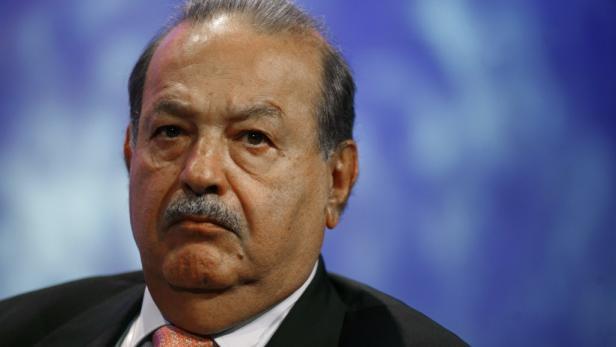 Carlos Slim: Der mexikanische Telekomtycoon ist am reichsten.