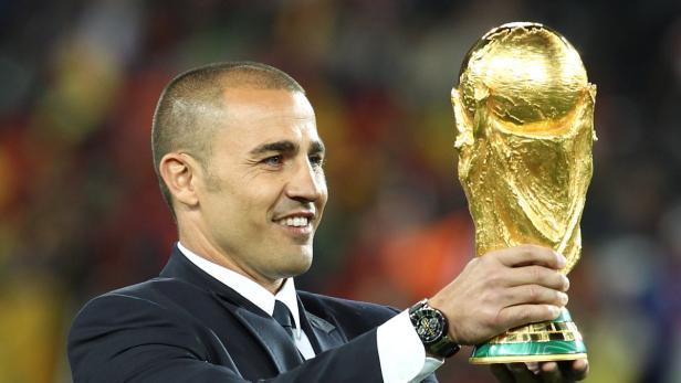 Cannavaro hat seinen Titel den Leistungen bei der WM zu verdanken
