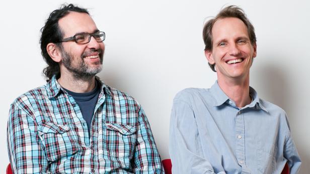 Paul Linsbauer (l.) und Gerhard Abel