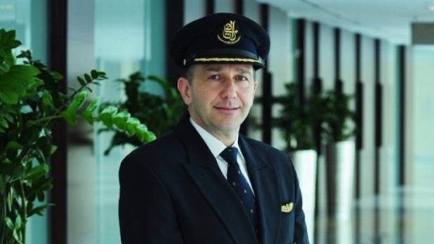 """A-380-Kapitän Bernhard Karl: """"Ich habe bei Emirates einen Betriebsrat jedenfalls noch nie vermisst."""""""