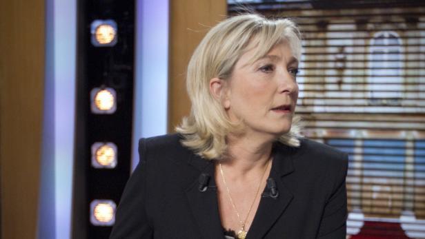 Marine Le Pen liegt in den Umfragen bei 16 Prozent.