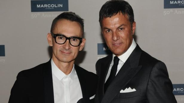 Maurizio Marcolin (rechts): Der Sohn des Firmengründers ist als Direktor für Style und Lizenzen zuständig.