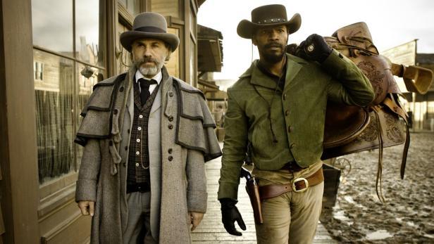 Christoph Waltz an der Seite von Jamie Foxx im Tarantino-Western