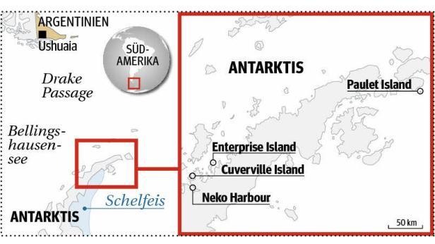grafik antarktis