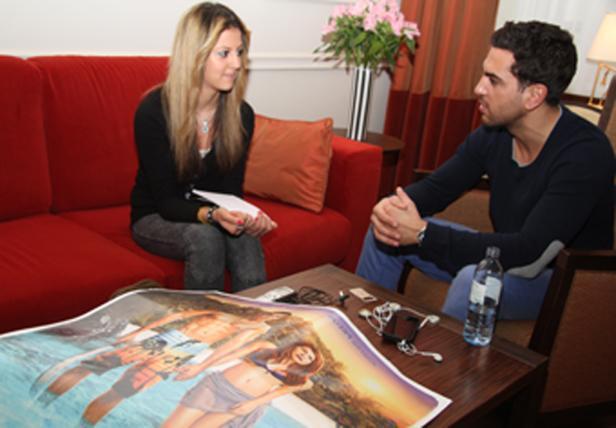 Ilknur Kablan mit Cem-Darsteller Elyas M'Barek