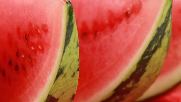 Geschnittene Wassermelonen