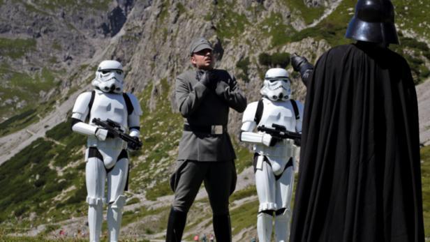 Dreharbeiten beim Star Wars-Fanfilm 'Regrets of the Past'