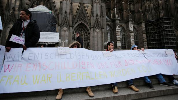Flüchtlinge stellen sich jenen entgegen, die den Ruf aller Migranten schädigen