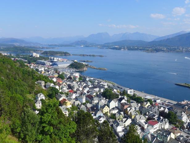 Norwegen, Südnorwegen, Ålesund…