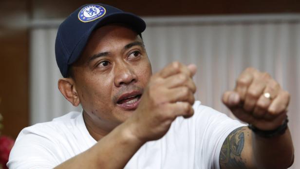 Der Philippiner Joseph Balmaceda überlebte das Blutbad, ein Österreicher ebenso