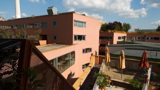 Das Pionierprojekt ,Sargfabrik' wurde als Wohnheim errichtet