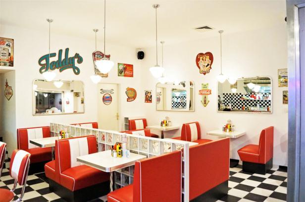 American Diner, Burger, Wien, 1060