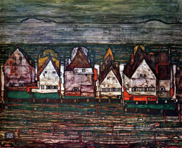 Das Gemälde 'Häuser am Meer' (1914) bleibt im Museum
