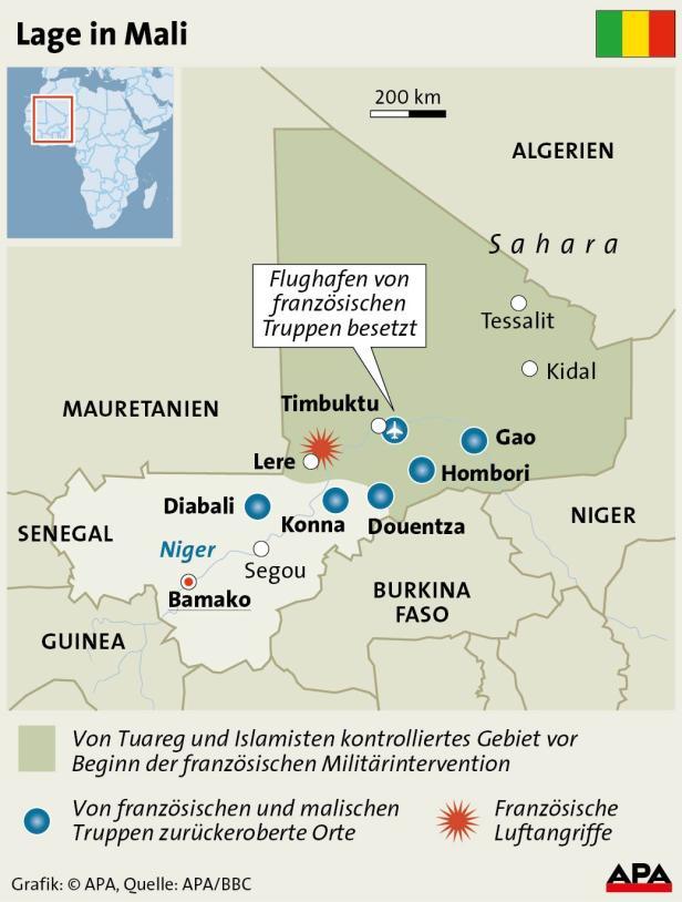 Lage in Mali = - APA-InfoGrafiken - 28.01.13 - AGD0009 - Vollbild.jpg