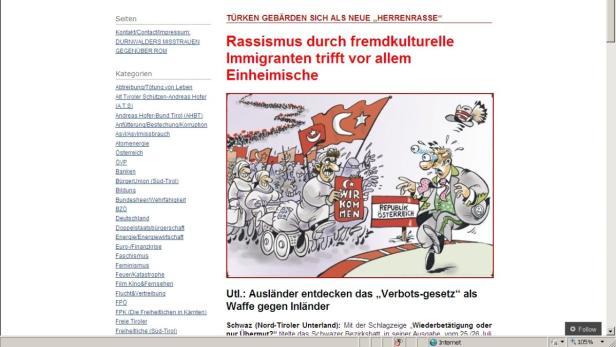 Tiroler Journal: Türken gebärden sich als neue Herrenrasse