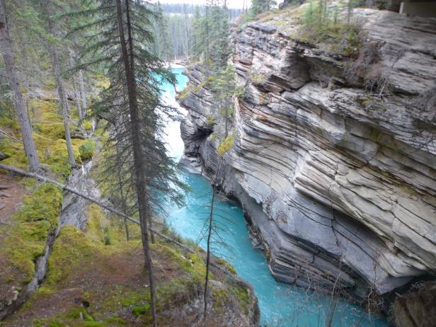 Kanada, Athabasca Falls,  Jasper-Nationalpark in A…
