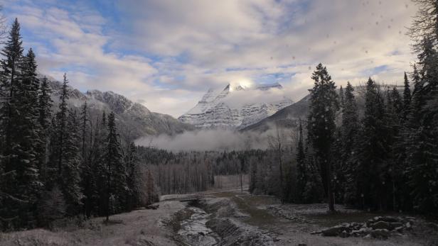 Kanada, Rocky Mountaineer, Anfang Oktober, Luxuszu…