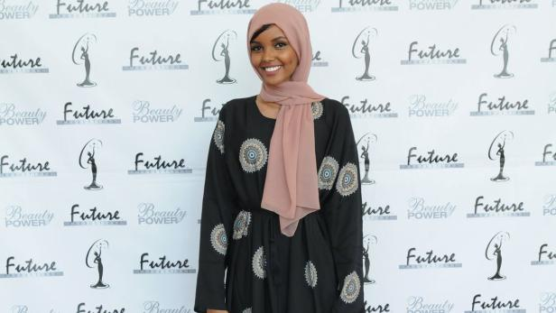 Halima Aden, 19, from St. Cloud, is the first full