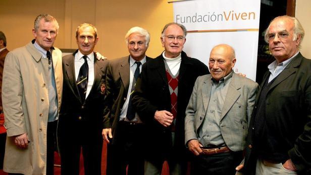 Überlebende der Tragödie in den Anden, bei einem Treffen 35 Jahre danach