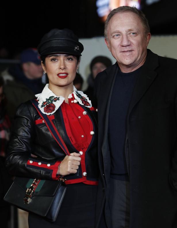 Salma Hayek mit Ehemann Francois-Henri Pinault