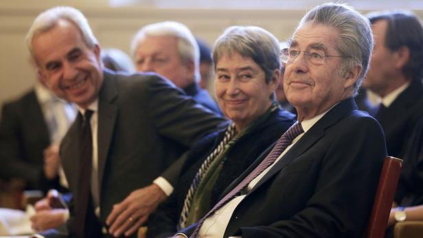 Treffen bei Bilderberg: Fischer, Scholten