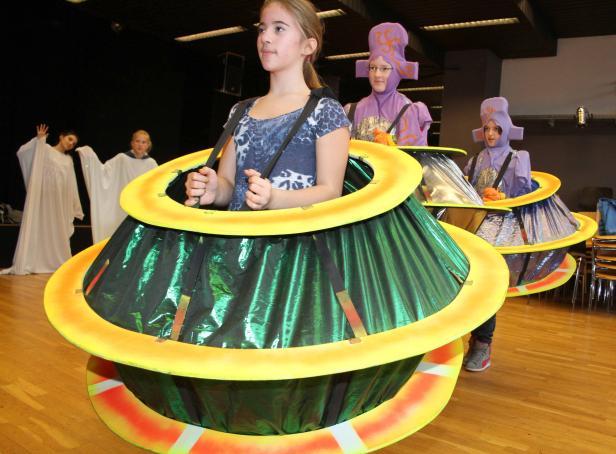 Rabauki-Musical, Lilly und die Aliensuppe