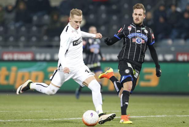 Christoph Monschein traf zum 1:0.
