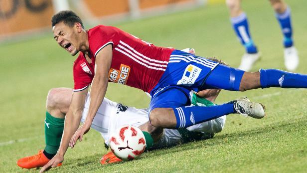 Rapid kam auch gegen Mattersburg ins Straucheln.