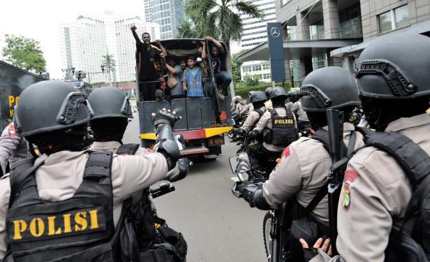INDONESIA-DEMONSTRATION-PAPUA-POLITICS