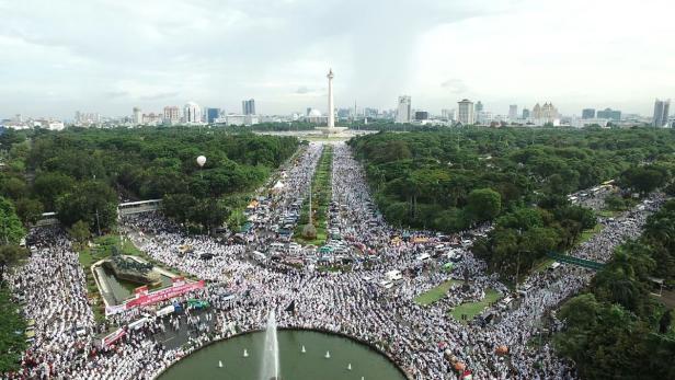 INDONESIA-DEMONSTRATION-RELIGION-ISLAM