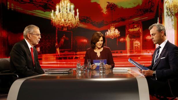 Austrian presidential candidate Van der Bellen, wh