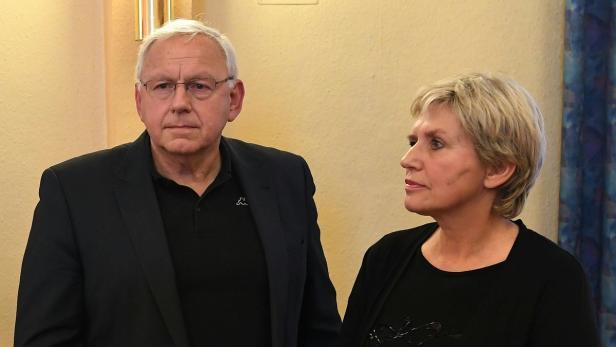 Bürgermeister Johann Hell und VS-Direktorin Silvia Riedler