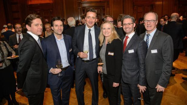 Von links: F. Zekely, J. Sauter, A. Ridder, N. Besier, J. Schramek und W. Zeiner